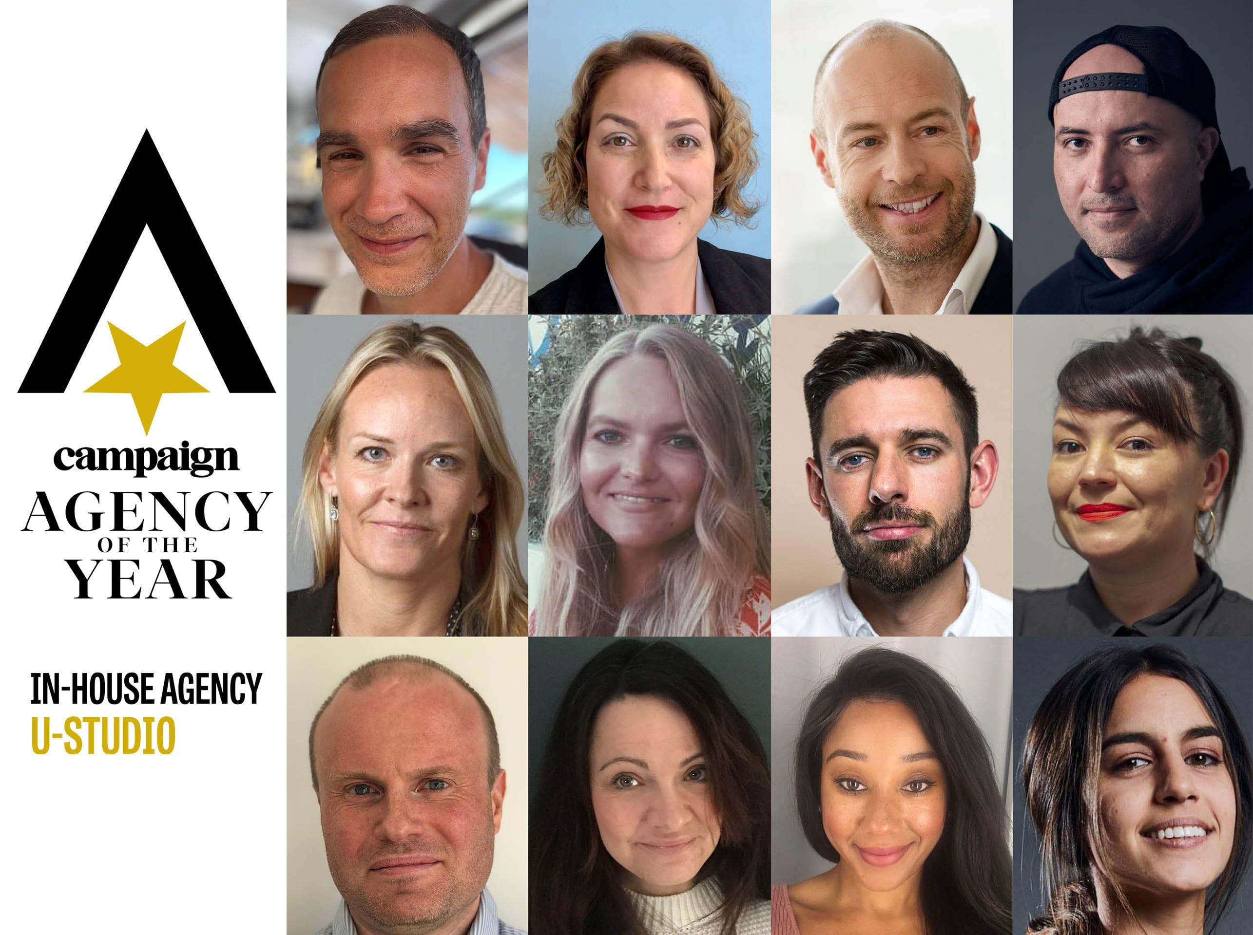U-Studio agency of the year